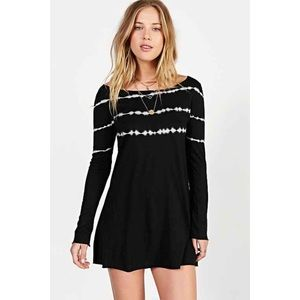 UO / PROJECT SOCIAL T / TIEDYE LONG SHIRT DRESS